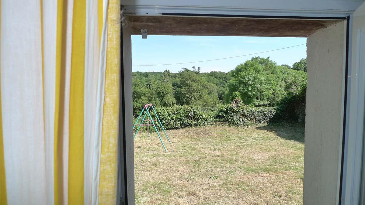 vue chambre Gîte en Vendée
